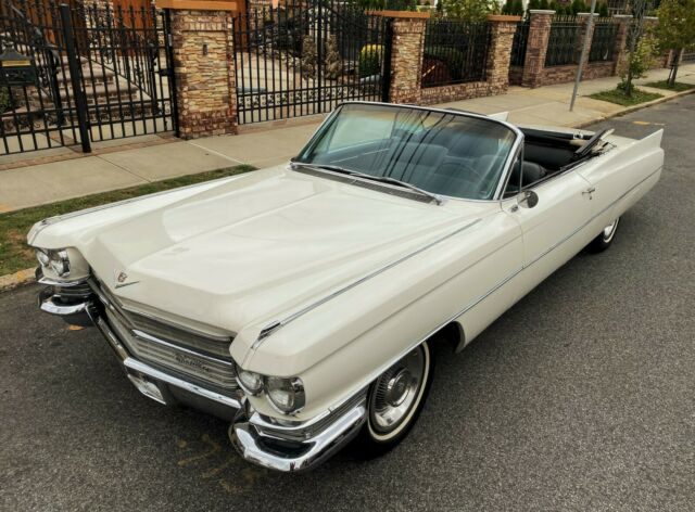 1963 Cadillac DeVille Convertible * NO RESERVE * AC * Cruise Control * 68k miles