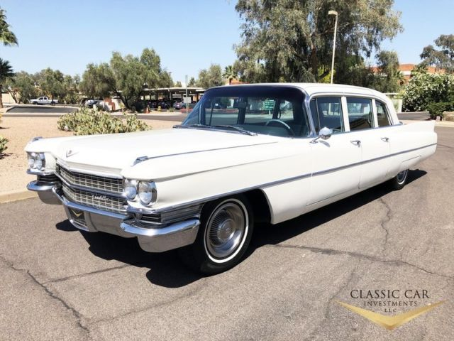 1963 Cadillac Fleetwood Series 75 9 Pass. Limousine - Only 66k Miles - WOW!