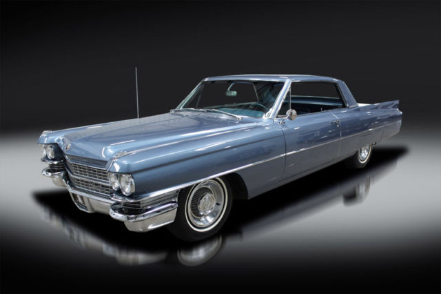 1963 Cadillac DeVille Survivor. Documented Three Owners. Beautiful. WOW!