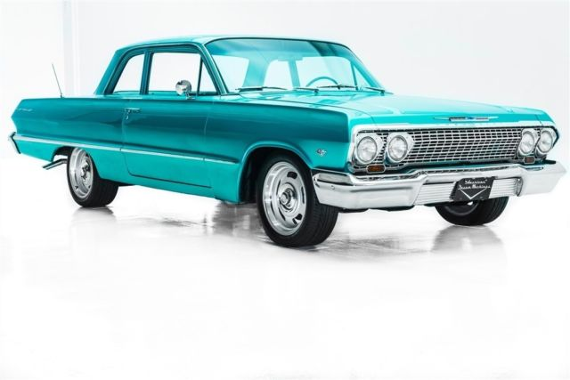 1963 Chevrolet Bel Air/150/210 4-Spd PS PB New Chrome