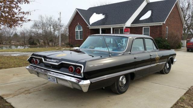 63 impala 4 door chevrolet impala 4 door - 1963 Chevrolet Bel Air Belair Police Car Impala