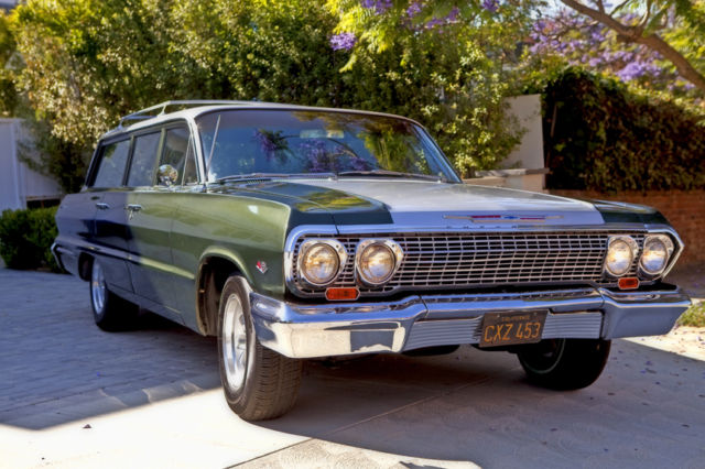 1963 Chevrolet Bel Air/150/210 6 seat passanger with fold down seat