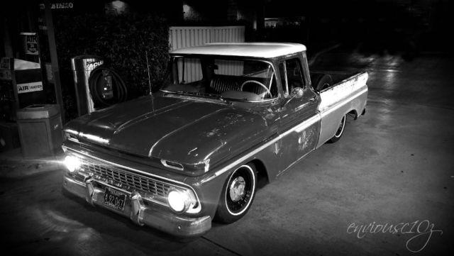 1963 chevrolet c10 pickup chevy big back window fleetside truck for sale photos technical. Black Bedroom Furniture Sets. Home Design Ideas