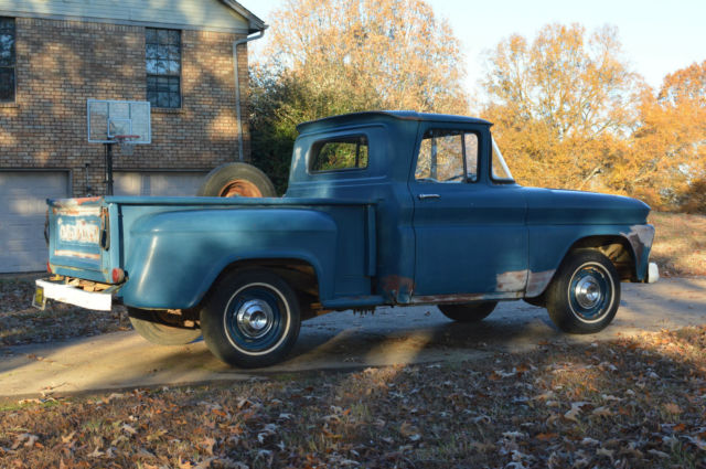 1963 Chevy Truck Stepside For Sale