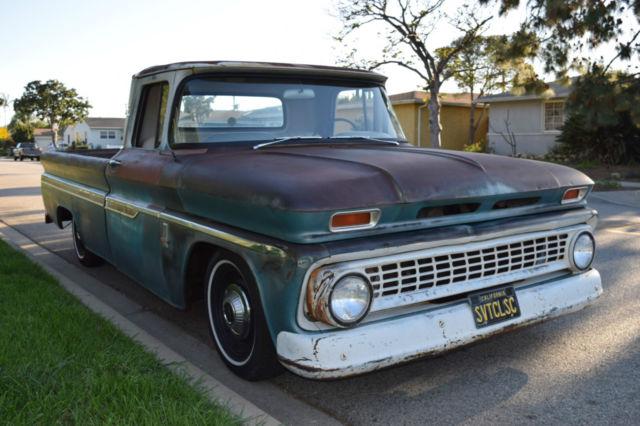 1963 chevrolet chevy c10 custom fleet side pick up truck for Who picks up used motor oil