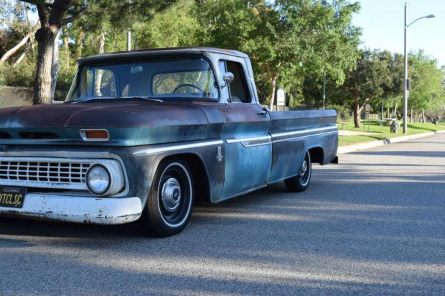 1963 Chevrolet Chevy C10 custom fleet side pick up truck original
