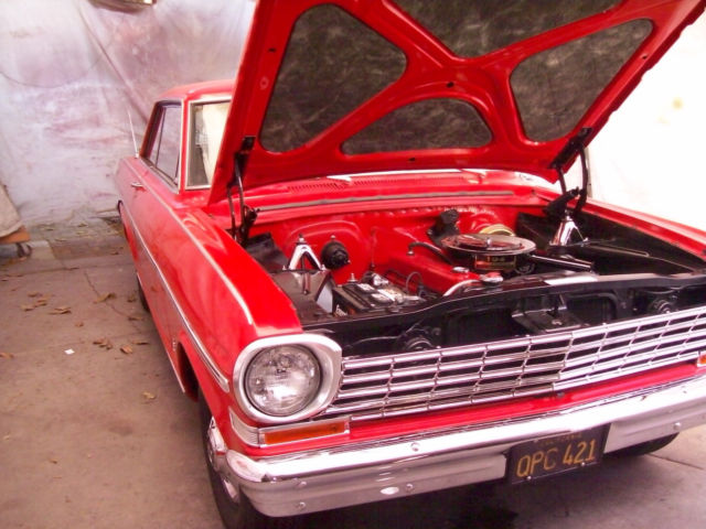 1963 Chevrolet Chevy II 2dr hardtop ss