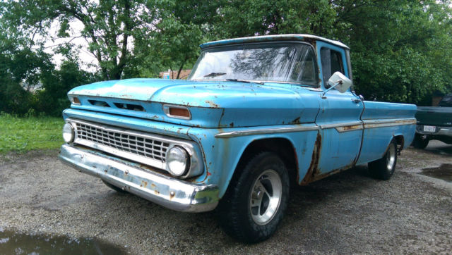 1963 chevrolet chevy short bed 1 2 ton pickup pick up c10 c20 running project for sale photos. Black Bedroom Furniture Sets. Home Design Ideas