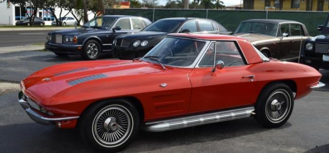 1963 Chevrolet Corvette 327 340HP A/C POWERGLIDE MATCHING #S NO RESERVE