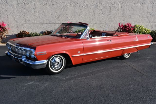 1963 Chevrolet Impala Convertible A/C 4 Speed