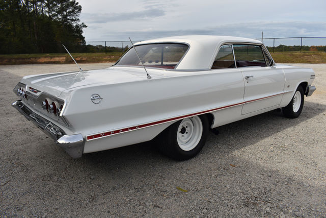 1963 Chevrolet Impala Clean Canvas