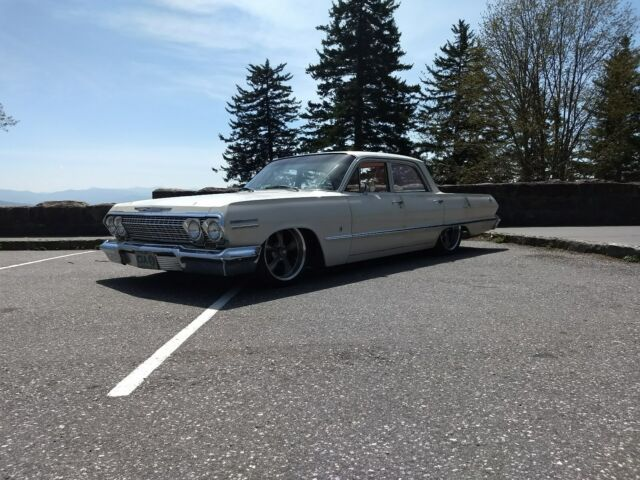 1963 Chevrolet Impala Lowered Patina Airride Bagged Slammed