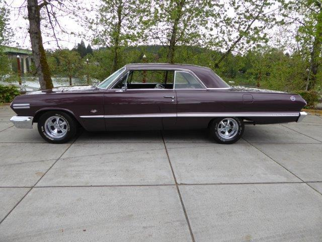 1963 Chevrolet Impala SS 4 Speed with 425HP