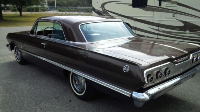 1963 chevrolet impala ss 409 for sale photos technical specifications description. Black Bedroom Furniture Sets. Home Design Ideas