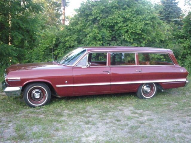 1963 chevrolet impala station wagon nine passenger. Black Bedroom Furniture Sets. Home Design Ideas