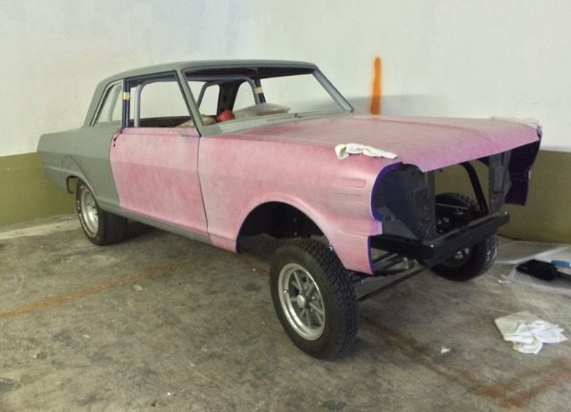 1963 chevy ii gasser project car nova for sale photos technical specifications description. Black Bedroom Furniture Sets. Home Design Ideas