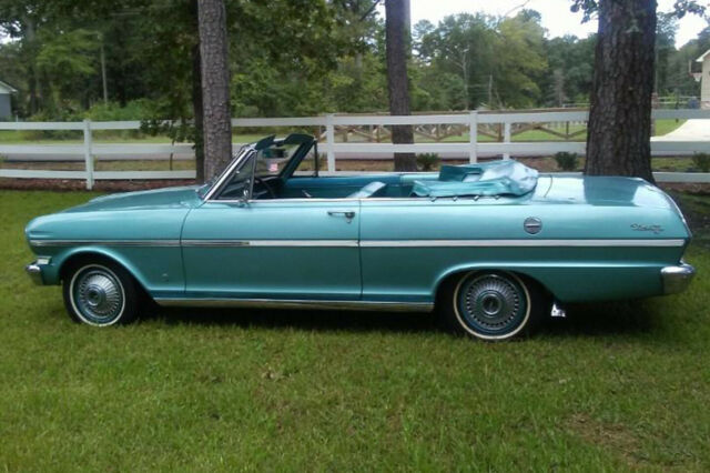 1963 Chevy II Nova 400 convertible one owner for over 48 years