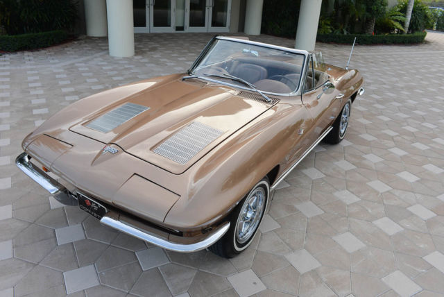 1963 Chevrolet Corvette Matching #s Frame-off 4spd SEE VIDEO!!