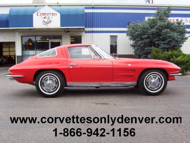 1963 Chevrolet Corvette 1963 Corvette Coupe, 327/340H.P. 4-Speed, Restored