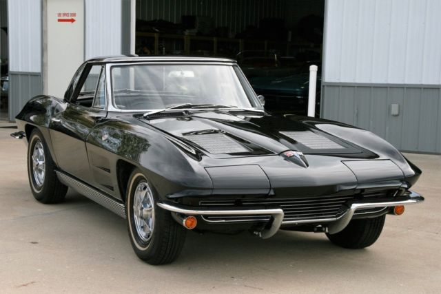 1963 Chevrolet Corvette TRIPLE BLACK
