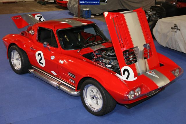 1963 Corvette Grand Sport Vintage Race Show Car Zl1 L88 540