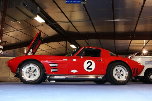 1963 Corvette Grand Sport Vintage Race Show Car Zl1 L88 540