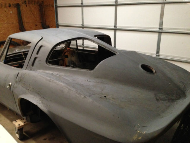 1963 corvette split window coupe project for sale photos for 1963 split window coupe corvette