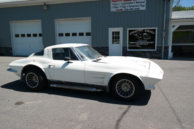 1963 Chevrolet Corvette Real TUXEDO BLACK/BLACK CALI CAR