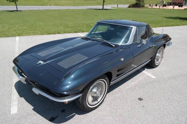1963 Chevrolet Corvette SplitWindow#sMatching327/300hpAutomatic