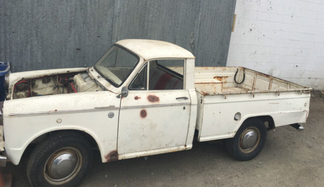 1963 Datsun L320  ORIGINAL CALIFORNIA TRUCK - NO ENGINE/TRANS
