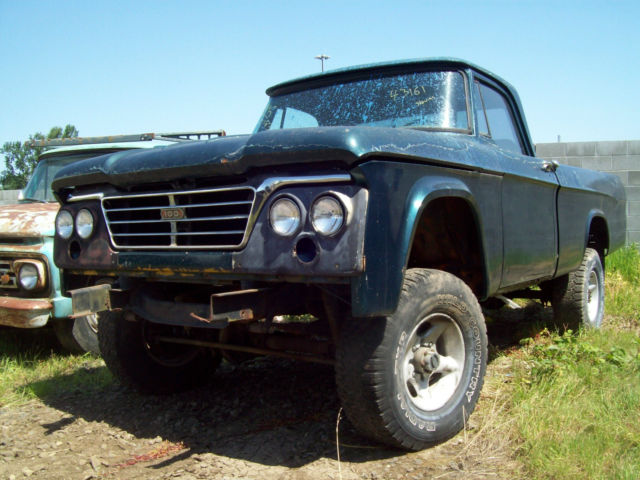 1963 Dodge Power Wagon W200