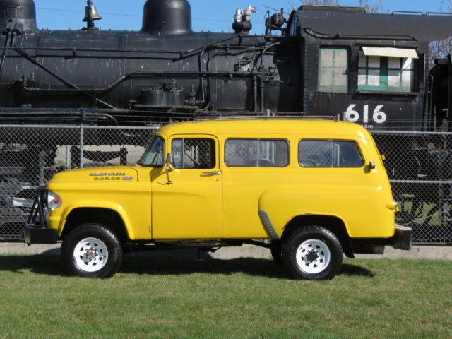 1963 Dodge Power Wagon Country Wago