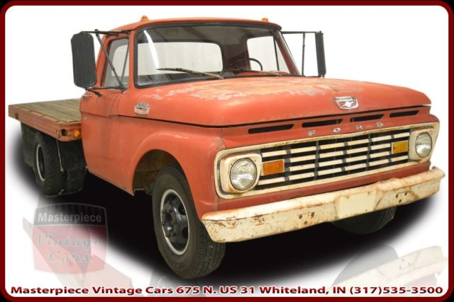 1963 Ford Other Pickups Standard Cab Flatbed Truck