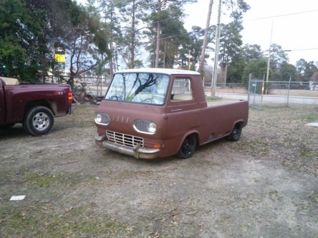 1963 ford econoline pickup truck v8 w air ride project