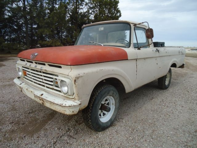1963 Ford F-100 Base Standard Cab Pickup 2-Door