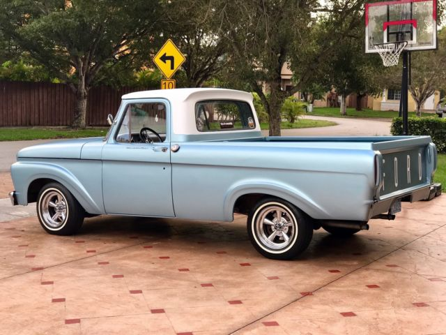 1963 ford f 100 unibody for sale photos technical. Black Bedroom Furniture Sets. Home Design Ideas