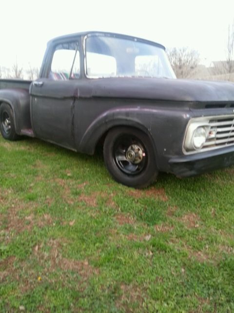 1963 ford f100 rat rod shop truck for sale photos. Black Bedroom Furniture Sets. Home Design Ideas