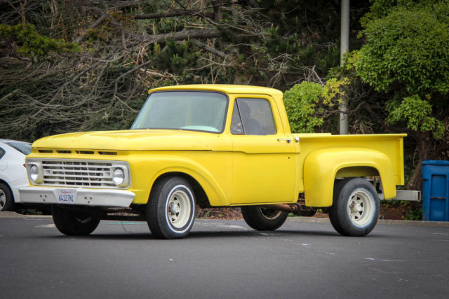 1963 ford f100 stepside rebuild original california. Black Bedroom Furniture Sets. Home Design Ideas