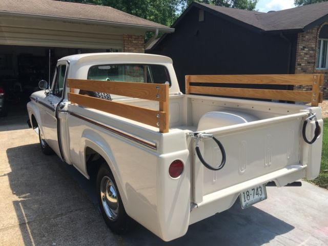 1963 ford f100 style side short bed for sale photos. Black Bedroom Furniture Sets. Home Design Ideas