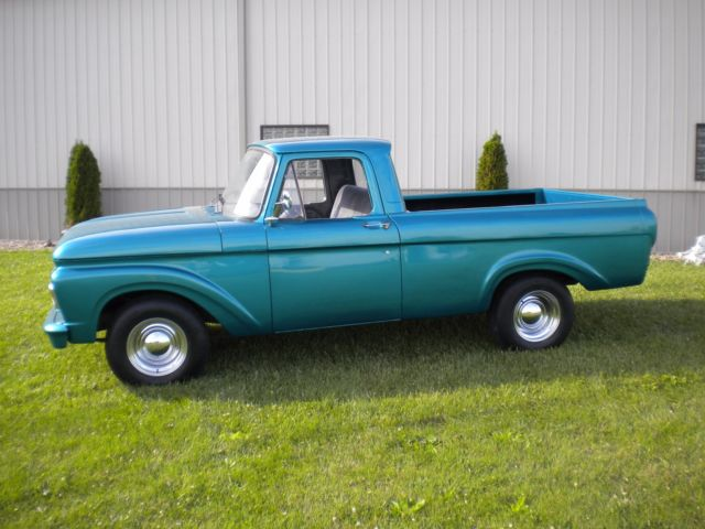 Ford F Unibody Shortbed on 1963 ford unibody custom cab