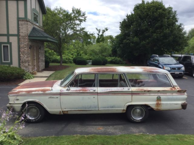 1963 Ford Fairlane 500 Ranch Wagon - Low Reserve for sale