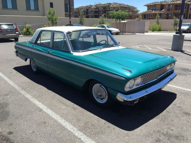 Ford Fairlane Sedan Vintage Classic Car For Sale Photos