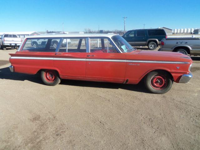 1963 Ford Fairlane Wagon for sale: photos, technical