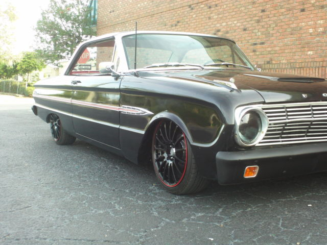 86264 1963 Ford Falcon One Of A Kind On Air Ride Bagged Low Rider Pro Touring Custom