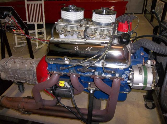 1963 ford galaxie 427 r code F E motor for sale: photos