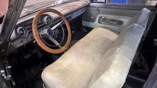 1963 Ford Galaxie 500 Original 390 Engine Car With 4 Speed Manual Transmission For Sale