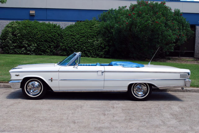 1963 Ford Galaxie 500 XL R-Code 427 Convertible for sale