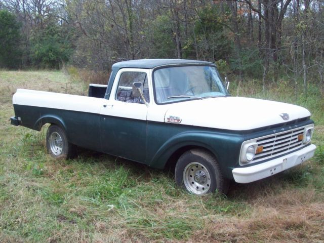 1963 Ford Unibody Long Bed Truck