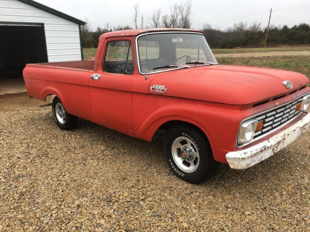 1963 Ford Unibody Truck For Sale Photos Technical