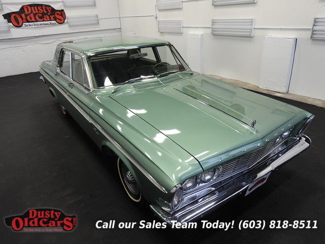 1963 Plymouth Fury Runs Drives Body Int Vgood 318V8 3spd push button
